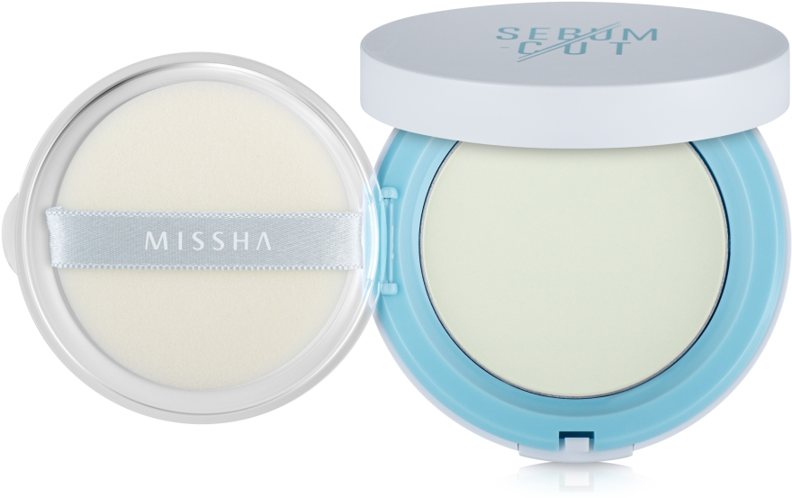 Компактная матирующая пудра - Missha Sebum-Cut Powder Pact