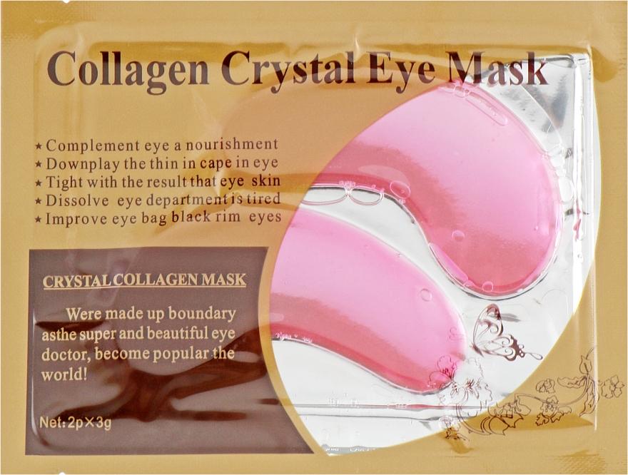 Антивозрастные гидрогелевые патчи под глаза против морщин с коллагеном и муцином улитки - Veronni Collagen Crystal Eye Mask