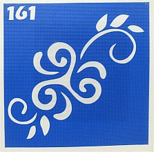 Парфумерія, косметика Трафарет для боді-арту, 6х6 см, 161 - Biofarma