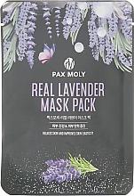 Духи, Парфюмерия, косметика Маска тканевая с экстрактом лаванды - Pax Moly Real Lavender Mask Pack