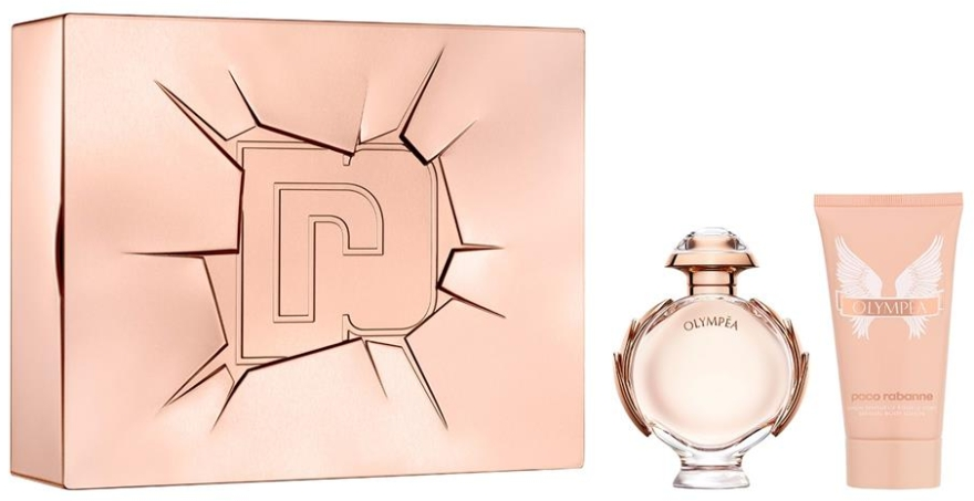 Набор - Paco Rabanne Olympea (edp/50ml + b/lot/75ml)