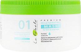 Духи, Парфюмерия, косметика Регенерирующая маска для тонких и слабых волос - La Fabelo Premium 01 Regenerating Mask