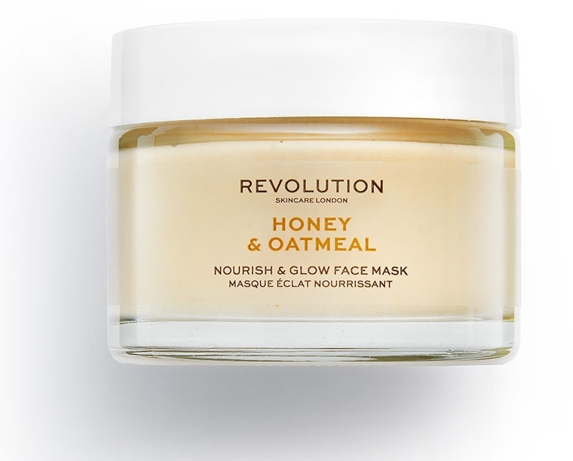 "Маска для лица ""Мед и Овсянка"" - Makeup Revolution Honey & Oatmeal Nourish & Glow Face Mask"