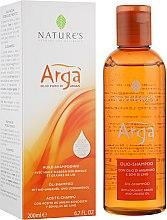 """Парфумерія, косметика Шампунь """"Аргановий"""" для частого використання - Nature's Arga Oil-Shampoo"""