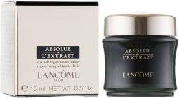 Духи, Парфюмерия, косметика Крем-эликсир для глобального восстановления кожи - Lancome Absolue L`extrait