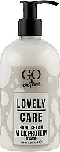 Духи, Парфюмерия, косметика Крем для рук - GO Active Lovely Care Hand Cream Milk Protein
