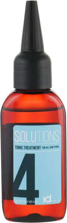 Тонизирующее средство для всех типов кожи головы - idHair Solutions № 4