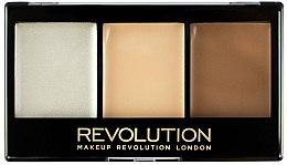 Духи, Парфюмерия, косметика Палетка для контуринга - Makeup Revolution Ultra Contour Kit