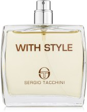 Sergio Tacchini With Style - Туалетная вода (тестер без крышечки) — фото N1