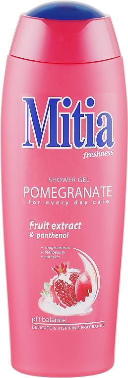 "Гель для душа ""Гранат"" - Mitia Pomegranate Shower Gel"
