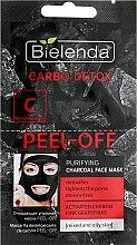 Духи, Парфюмерия, косметика Очищающая угольная маска - Bielenda Carbo Detox Peel-Off Purifying Charcoal Mask