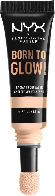 Консилер для лица с сияющим финишем - NYX Professional Makeup Born To Glow Radiant Concealer