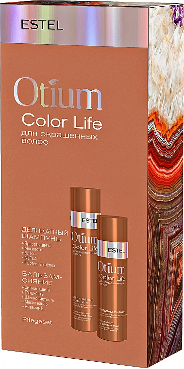 Набор - Estel Professional Otium Color Life (shm/250ml + balm/200ml)