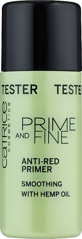 "Праймер для лица ""Против красноты"" - Catrice Prime And Fine Anti-Red Primer (тестер)"