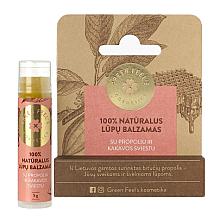 Духи, Парфюмерия, косметика Бальзам для губ с прополисом и маслом какао - Green Feel's Natural Lip Balm
