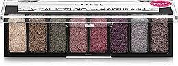 Духи, Парфюмерия, косметика Пигменты для макияжа - Lamel Professional Metallic Studio For Makeup Artist