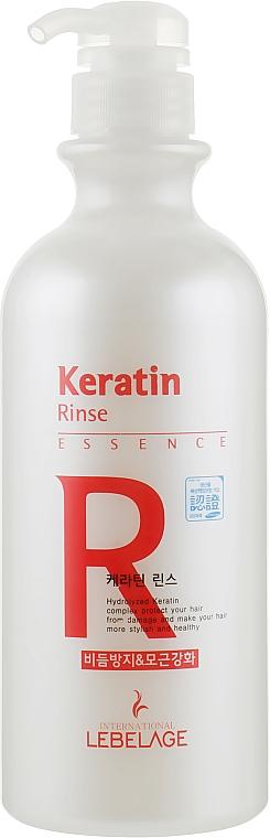 Кондиционер для волос с кератином - Lebelage Keratin Rinse