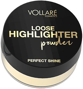 Рассыпчатый хайлайтер - Vollare Loose Highlighter Powder Perfect Shine