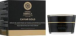 Духи, Парфюмерия, косметика Омолаживающий дневной крем для лица anti-age - Natura Siberica Caviar Gold