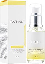 Духи, Парфюмерия, косметика Сыворотка для осветления и отбеливания кожи лица - D+Clinic Multi Vitamin Ampoule