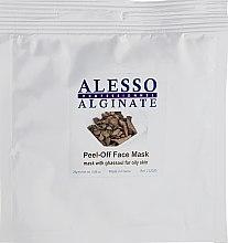 Духи, Парфюмерия, косметика Маска для лица альгинатная с глиной Гассул - Alesso Professionnel Alginate Peel-Off Face Mask With Ghassoul For Oily Skin