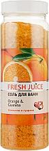 Духи, Парфюмерия, косметика Соль для ванны - Fresh Juice Orange and Guarana