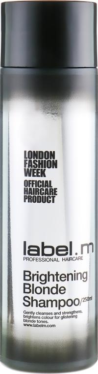 Осветляющий шампунь для блондинок - Label.m Brightening Blonde Shampoo