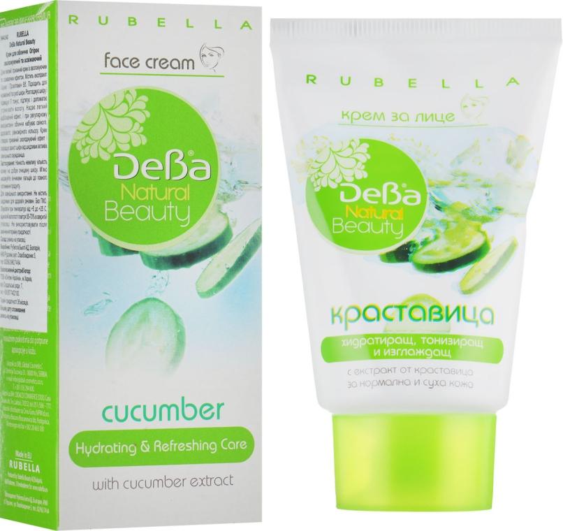 Увлажняющий и освежающий крем для лица - Rubella DeBa Natural Beauty