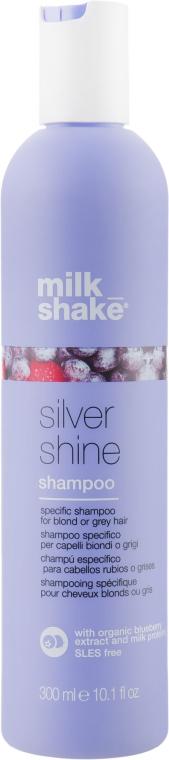 Шампунь для светлых волос - Milk_Shake Silver Shine Shampoo