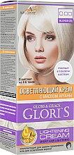Духи, Парфюмерия, косметика Осветляющий крем для волос на 1 применение - Glori's Gloss&Grace Lightening Cream