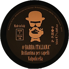 Духи, Парфюмерия, косметика Бриолин для волос - Barba Italiana Valpolicella Brillance Gel