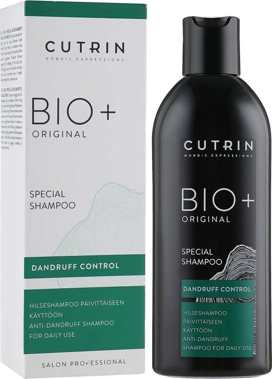 Специальный шампунь - Cutrin Bio+ Original Special Shampoo