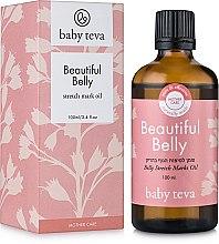 Духи, Парфюмерия, косметика Массажное масло для ухода за кожей живота во время и после беременности - Baby Teva Belly Oil Fresh Massage Oil
