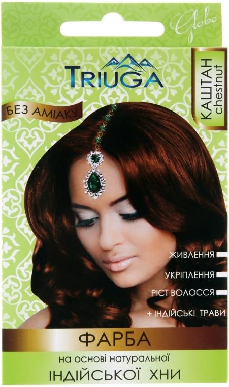 Краска для волос на основе натуральной индийской хны - Triuga