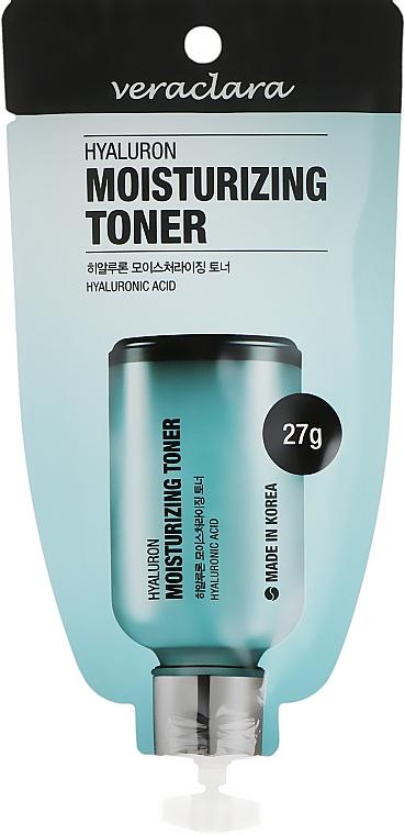Тонер для лица с гиалуроновой кислотой - Veraclara Hyaluron Moisturizing Toner