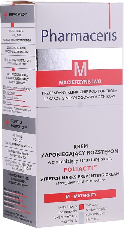 Крем предотвращающий растяжки - Pharmaceris M Foliacti Stretch Mark Prevention Cream