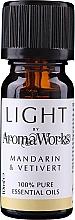 "Духи, Парфюмерия, косметика Эфирное масло ""Мандарин и ветиверт"" - AromaWorks Light Range Mandarin and Vetivert Essential Oil"