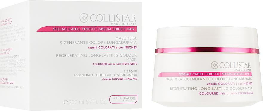 Маска для окрашенных волос - Collistar Regenerating Long Lasting Colour Mask