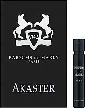 Духи, Парфюмерия, косметика Parfums De Marly Akaster - Парфюмированная вода (пробник)