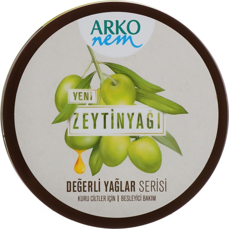 """Увлажняющий крем для лица и тела """"Оливковое масло"""" - Arko Nem Olive Oil"""