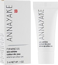 Духи, Парфюмерия, косметика Крем для контура глаз - Annayake Extreme Eye Contour Care (пробник)