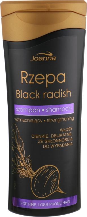 Укрепляющий шампунь для тонких волос - Joanna Black Radish Hair Shampoo