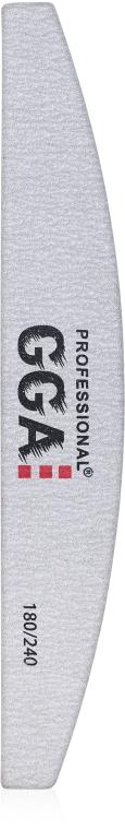 Пилка для ногтей полумесяц 180/240 - GGA Professional
