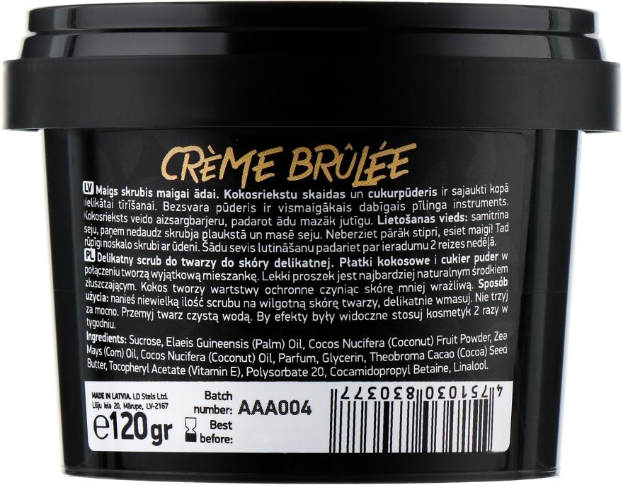 "Скраб для обличчя ""Crème brûlée"" - Beauty Jar Gentle Scrub For Gentle Skin — фото N2"