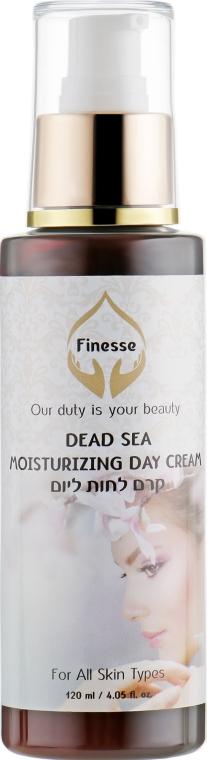 Увлажняющий дневной крем для лица - Finesse Dead Sea Moisturizing Day Cream