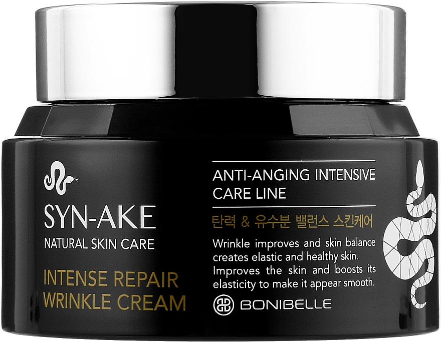"""Крем для лица """"Змеиный пептид"""" - Enough Bonibell Syn-Ake Intense Repair Wrinkle Cream"""