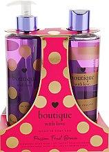 Духи, Парфюмерия, косметика Набор - Grace Cole Boutique With Love Duo Passion Fruit Breeze (b/wash/500ml + h/wash/500ml)