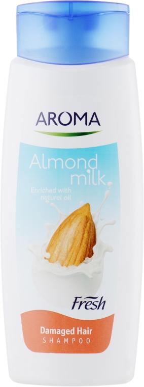 "Шампунь ""Миндаль-молоко"" - Aroma Fresh Shampoo ""Almond Milk"""