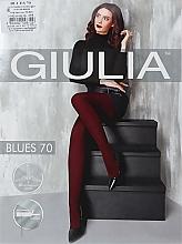 "Духи, Парфюмерия, косметика Колготки для женщин ""Blues 3D"" 70 Den, nero - Giulia"