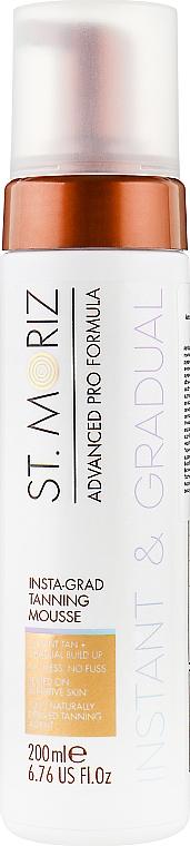 Мусс-автозагар для тела - St.Moriz Advanced Pro Insta-Grad Tanning Mousse